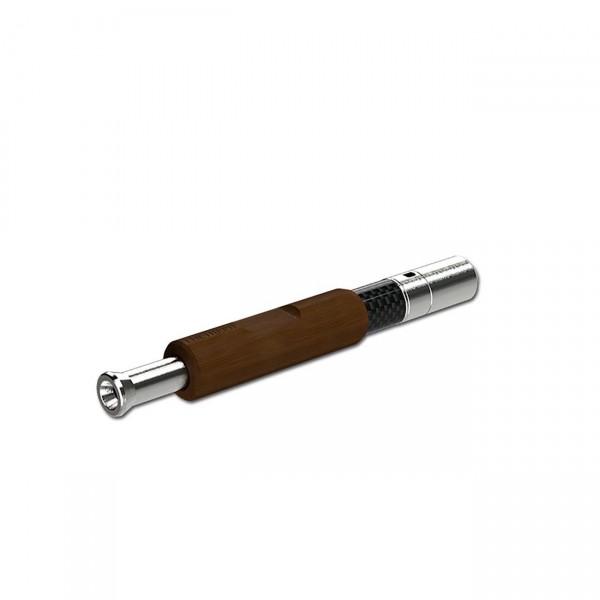 The Hippie Pipe Vaporizer Carbon-Rosenholz