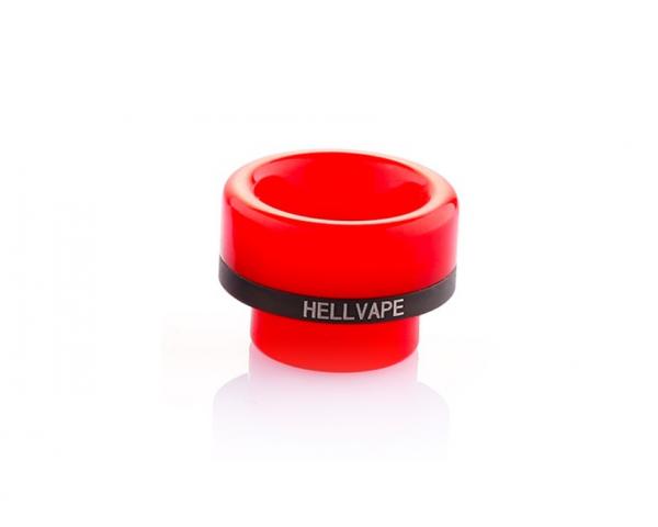 Red 810ner Driptip by Hellvape