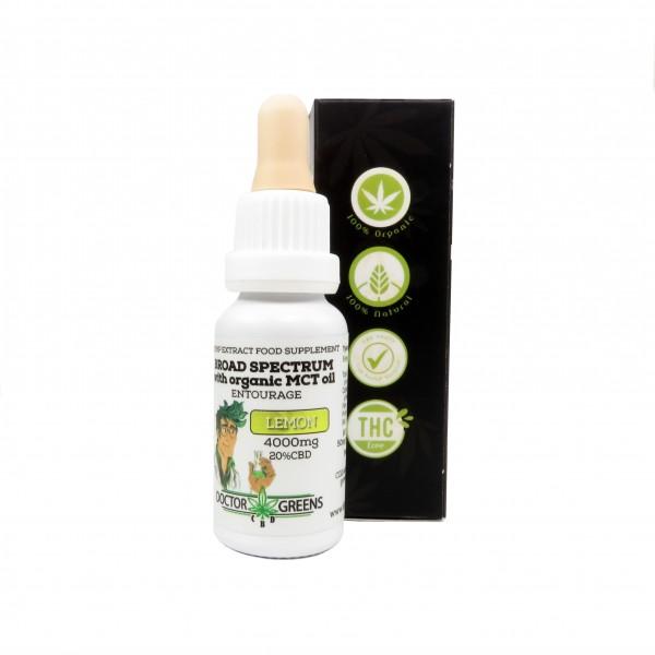 Doctor Greens 20% CBD-Aromaöl - 20ml
