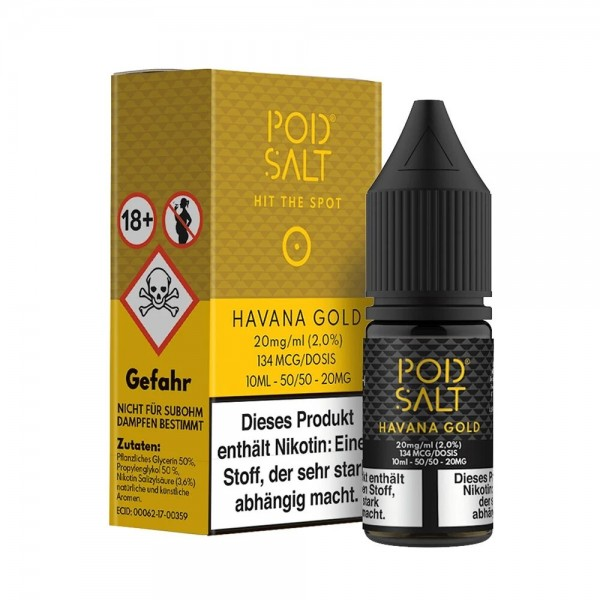 PodSalt Havana Gold - 20mg/ml