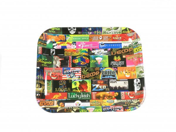 """RAW """"HISTORY"""" Rolling Tray"""