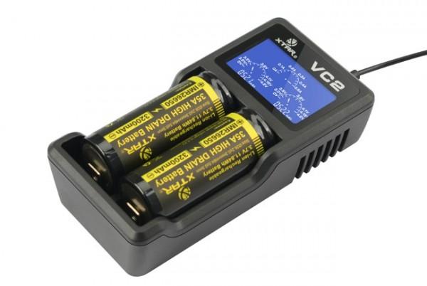 XTAR - VC2s Ladegerät