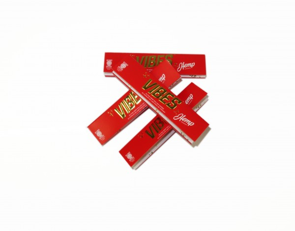 VIBES Hemp Rolling Papers King Size Slim