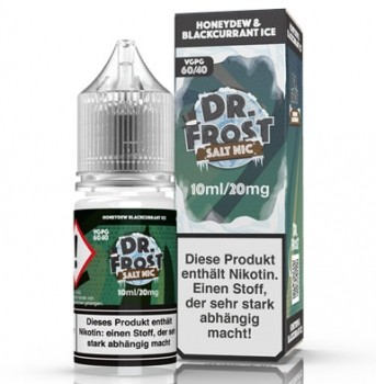 Dr.Frost Honeydew & Blackcurrant ICE Nikotinsalz 10ml/20mg