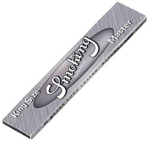 Smoking Master King Size Silver Long Papers