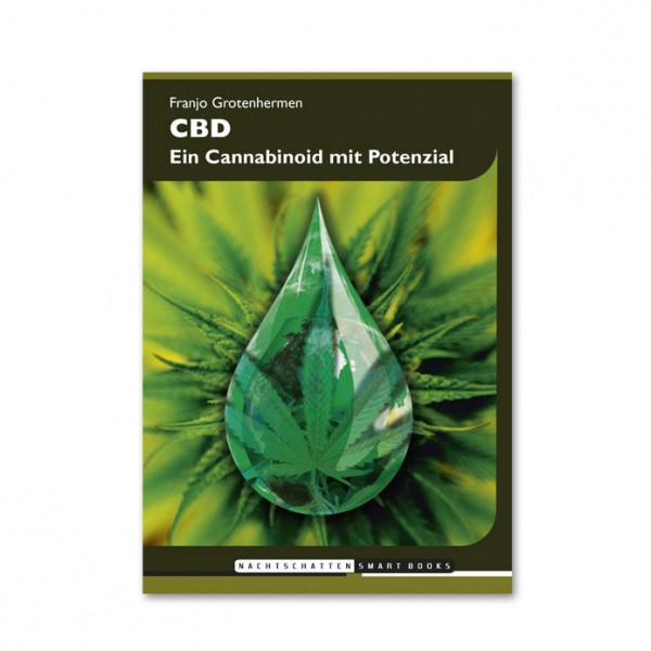 """CBD Taschenbuch """"Ein Cannabinoid mit Potential"""" von Franjo Grotenhermen"""