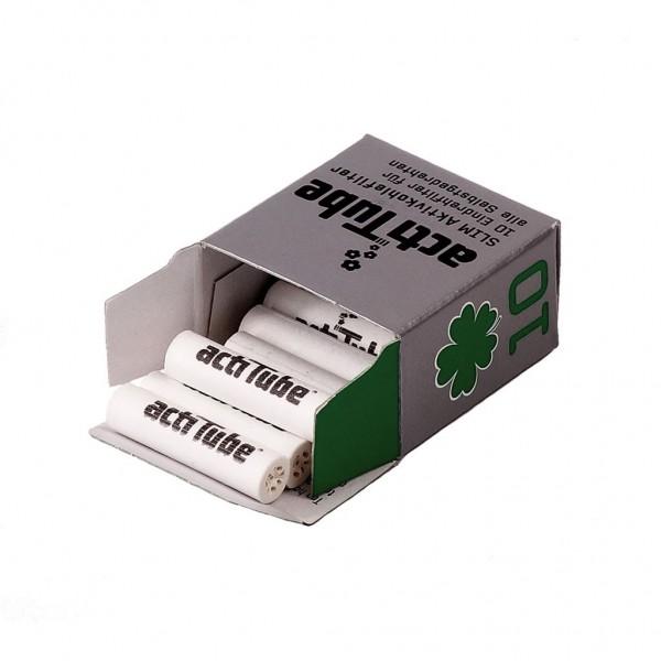 10 x ActiTube SLIM Aktivkohlefilter ( 7mm Durchmesser )