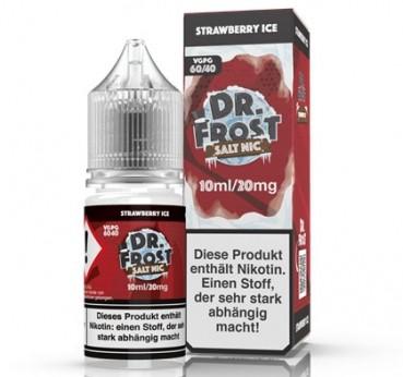 Dr.Frost Strawberry ICE Nikotinsalz 10ml/20mg